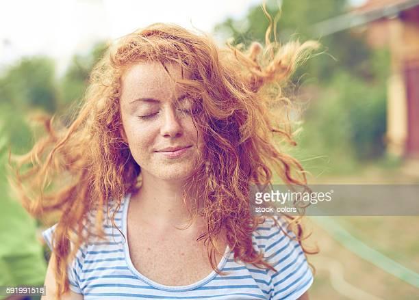 windy feeling