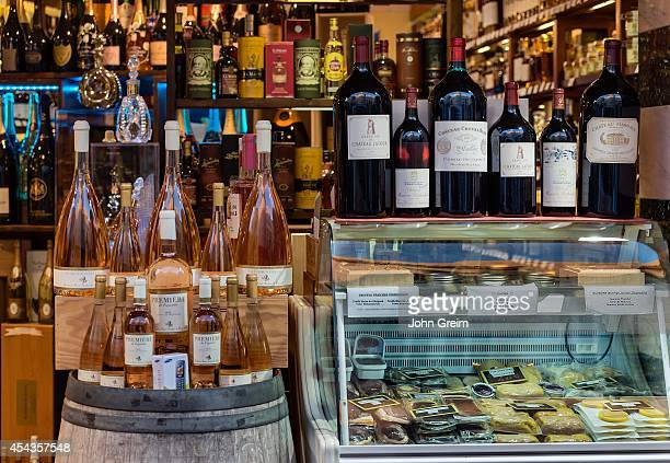 Wine and cheese shop