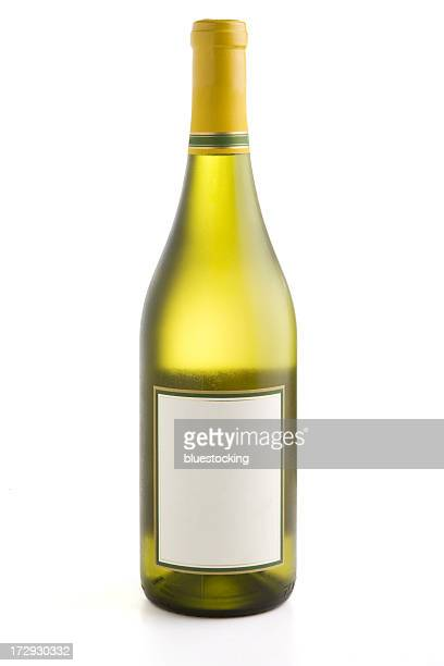 wine bottle - white wine stock pictures, royalty-free photos & images