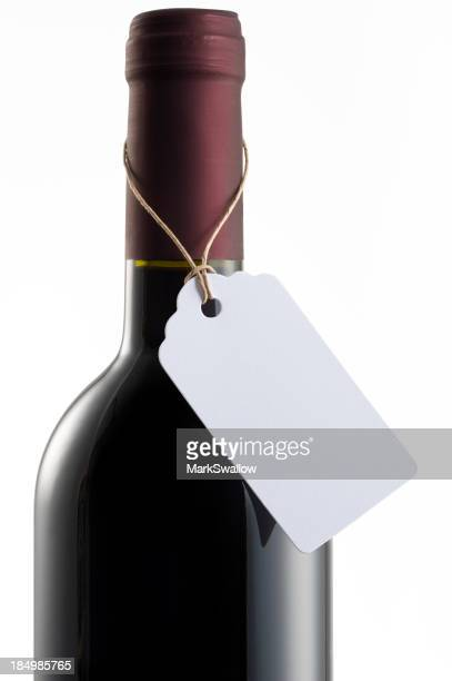 Wine bottle with Label
