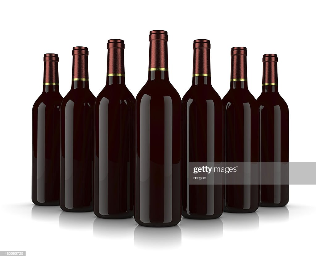 Wine Bottles : Stock Photo