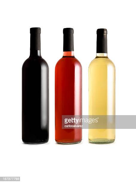 Wine Bottles w/Clipping path