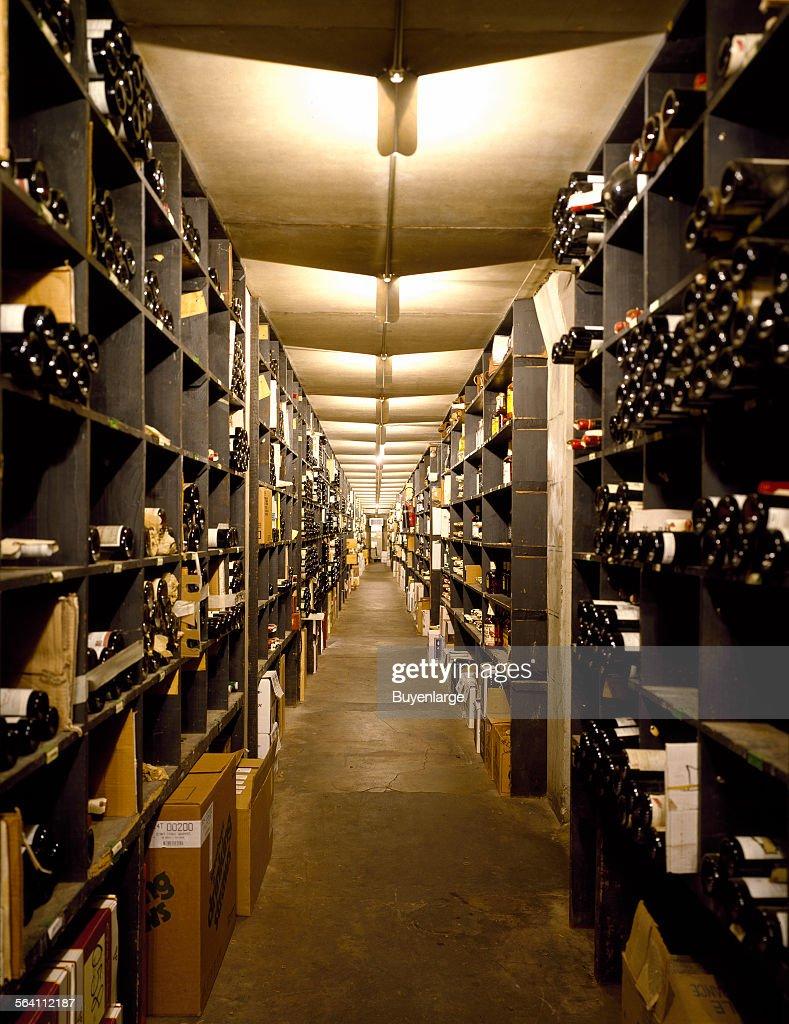 Wine cellar at venerable Antoine Restaurant in New Orleans Louisiana & Wine cellar at venerable Antoine Restaurant in New Orleans ...