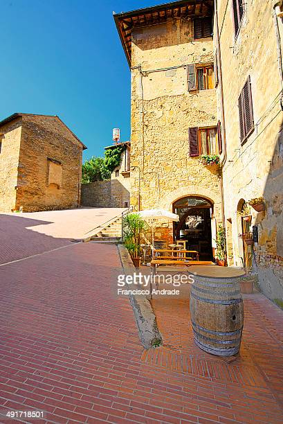 CONTENT] Wine cellar in the medieval town of San Gimignano Tuscany Italy