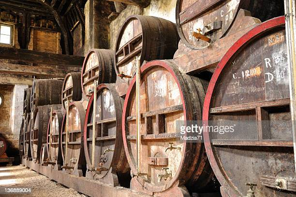 wine cellar - calvados stock pictures, royalty-free photos & images