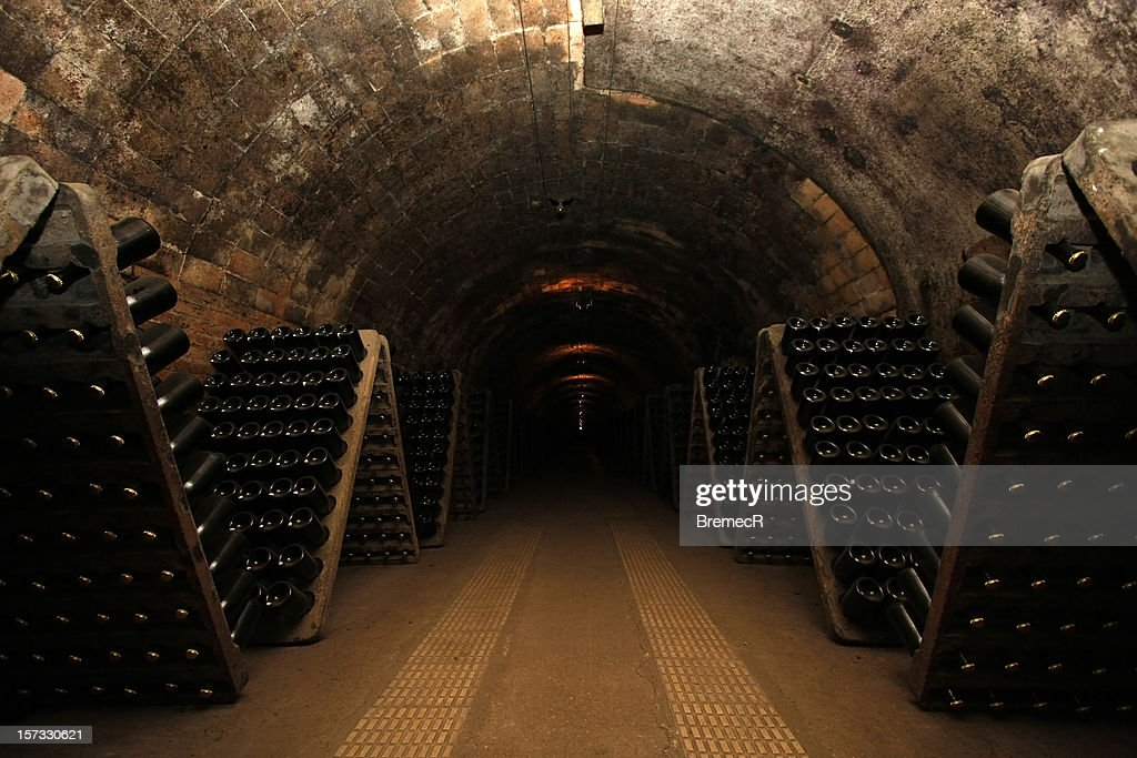 Wine cellar : Stock Photo