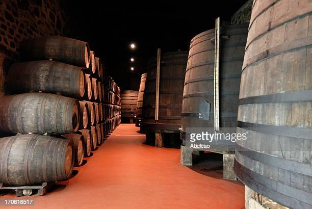 Bodega de vinos (puertos