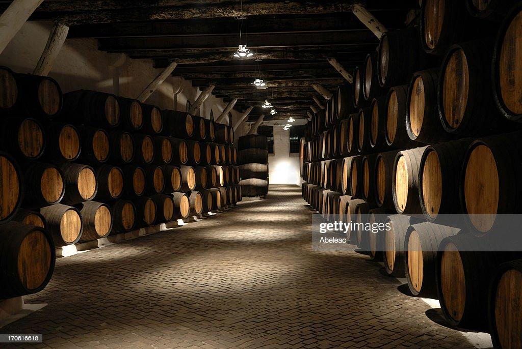 Wine cellar ( Port ) : Stock Photo