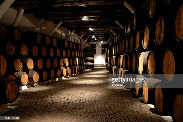 wine cellar ( port ) - porto portugal stock pictures, royalty-free photos & images