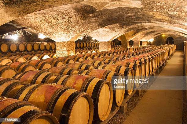 wine cellar - france stock pictures, royalty-free photos & images
