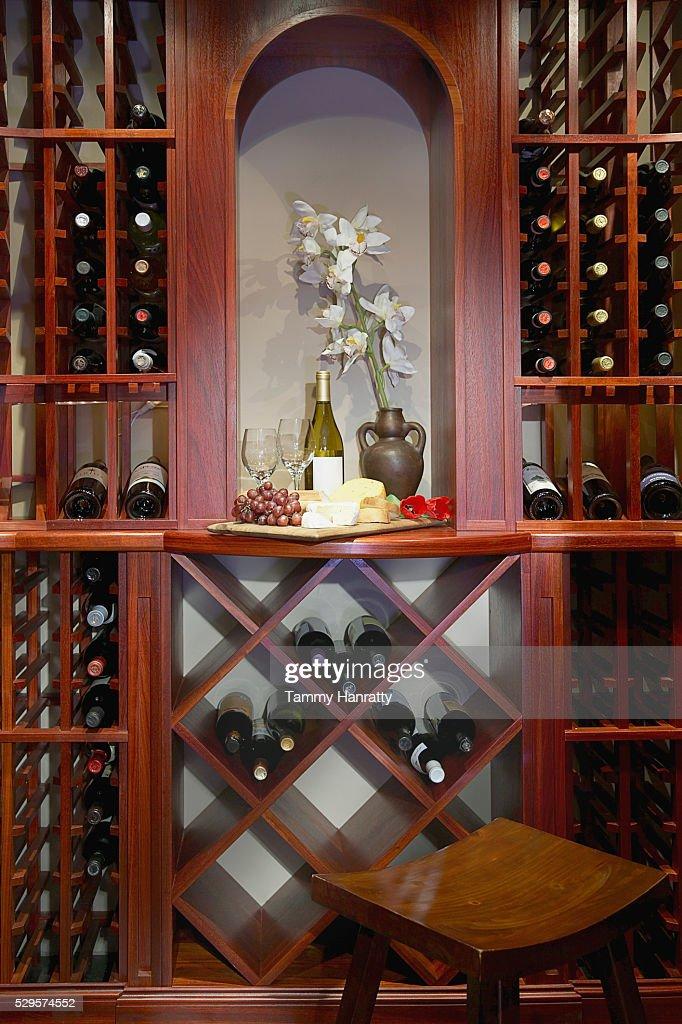 Wine cellar : Foto de stock