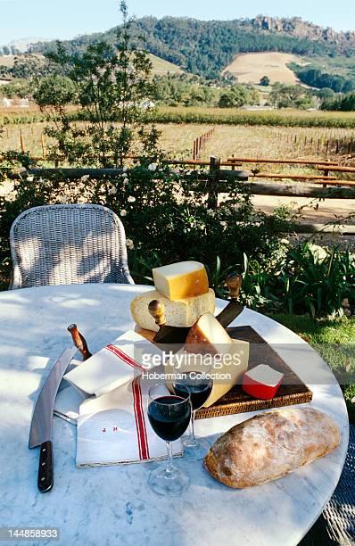 Wine cheese bread Franschhoek Western Cape