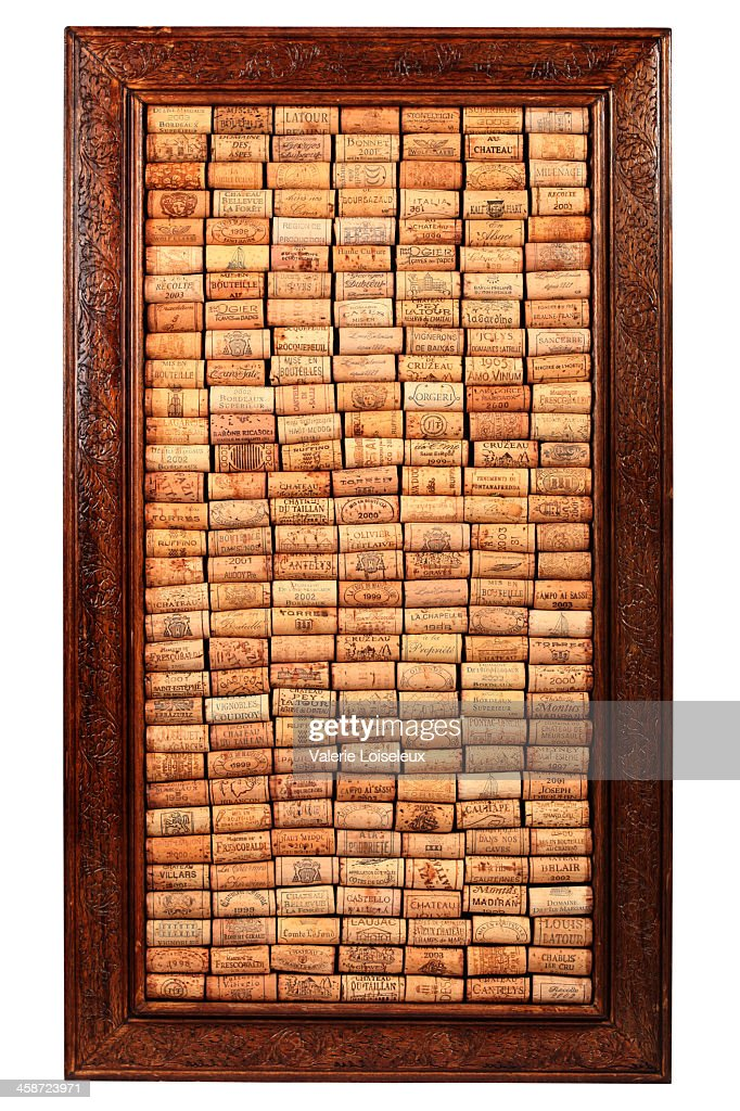 Wine Corks Frame Stock Photo Getty Images