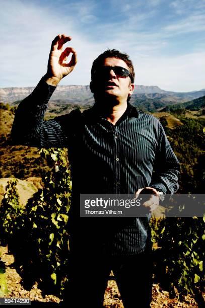 Wine from Priorat Gratallops Tarragona Here the wineyards of L'Ermita and Alvaro Palacios