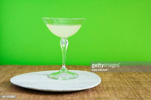 Wine Glass on a Plate