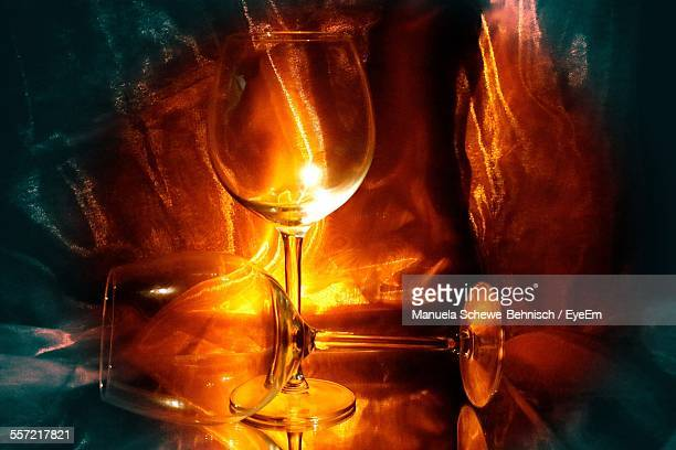 wine glass on table - fragility stock pictures, royalty-free photos & images