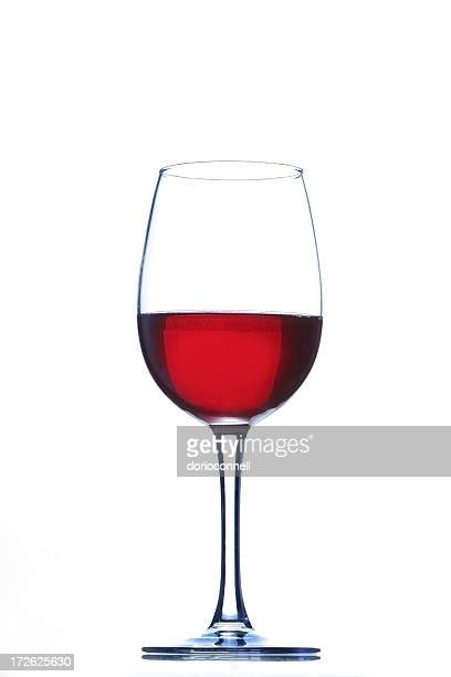 wine glass with red wine inside - wine glass stock pictures, royalty-free photos & images