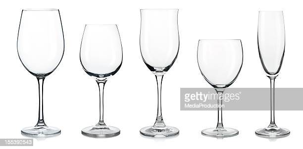 wine glasses - wine glass stock pictures, royalty-free photos & images