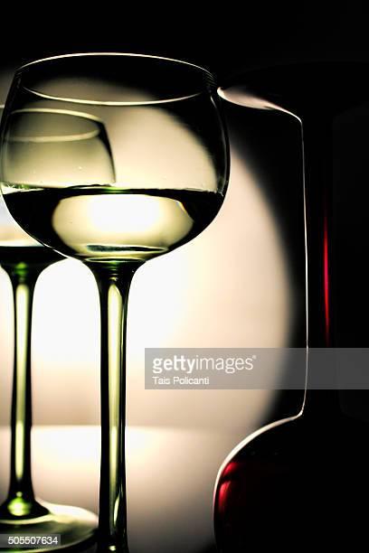 Wine glasses - product shot