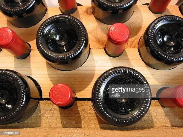 Vin dans une cave à vins