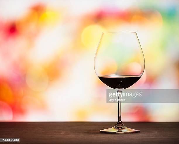Wine in party background