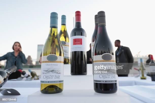 Wine on display at The Food Network & Cooking Channel New York City Wine & Food Festival Presented By Coca-Cola - Smorgasburg presented by Thrillist...