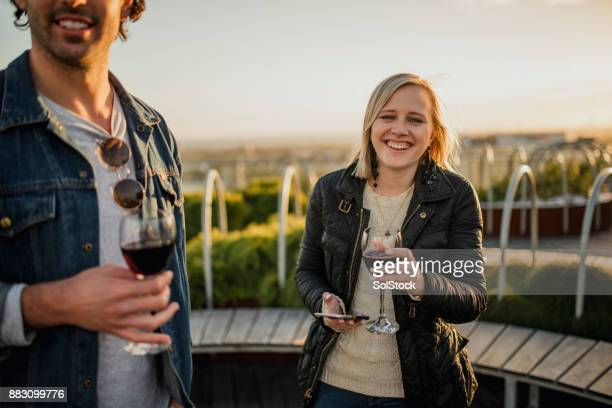 Wine on the Rooftop