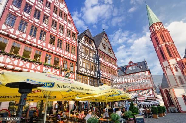 Wein-restaurant im Frankfurter Römer