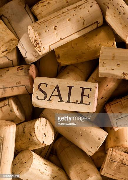 wine sale - sale stock photos and pictures
