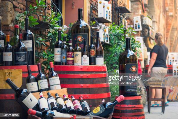 Wein-shopping