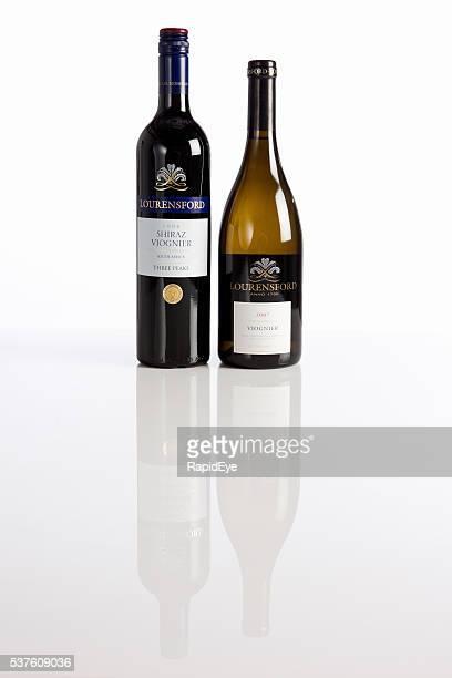 Vin sud-africain, Cape Town, Viognier, Shiraz, espace de copie, Blanc