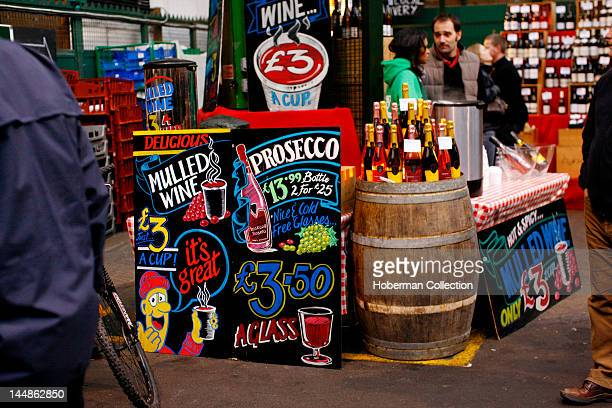 Wine Stall Burough Market London