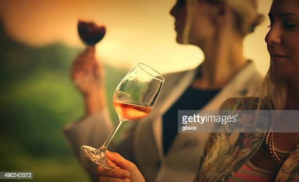 Degustação de vinho evento.
