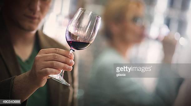 Weinprobe Veranstaltung.