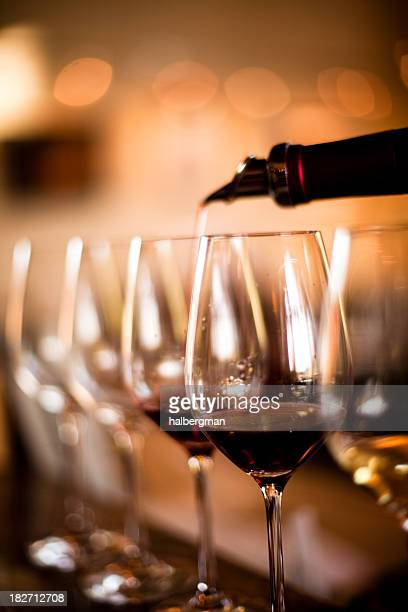 wine tasting - wine glass stock pictures, royalty-free photos & images