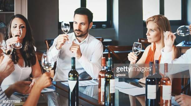 Weinprobe.