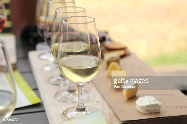 wine tasting. - things that go together stock photos and pictures