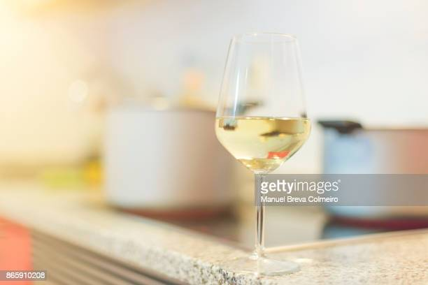 wine time - chardonnay grape stock photos and pictures