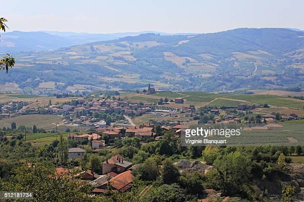 winegrowing village in Beaujolais region