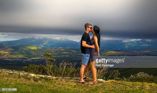 winelands romance. - western cape province stock pictures, royalty-free photos & images