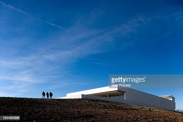 Winery Mayor Campo Maior Portugal Architect Alvaro Siza Winery Mayor Campo Maior Adega Maior Portugal 2007
