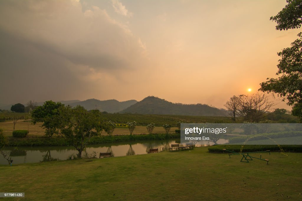 PB VALLEY KAO YAI Winery : Stock Photo