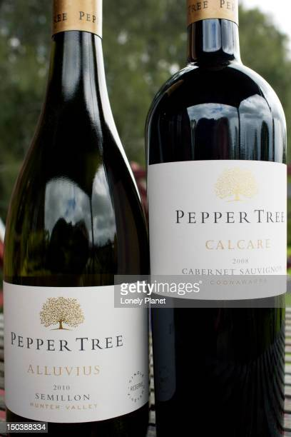 Wines from Pepper Tree Winery collection, Halls Road.