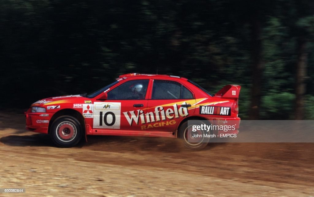 Rallying-Mitsubishi Rally Art Team Pictures | Getty Images
