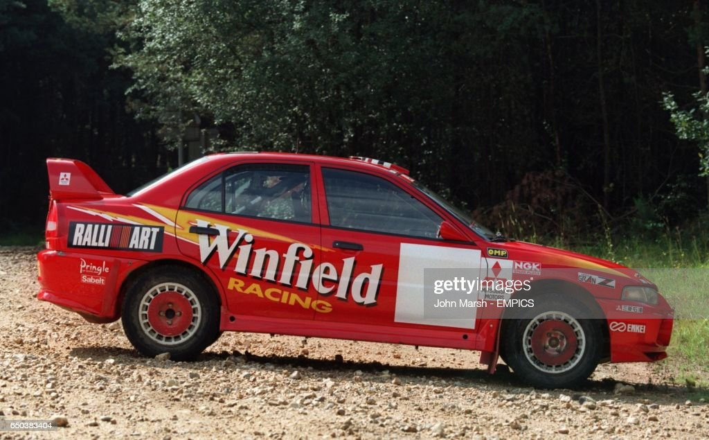 Rallying-Mitsubishi Rally Art Team Pictures   Getty Images