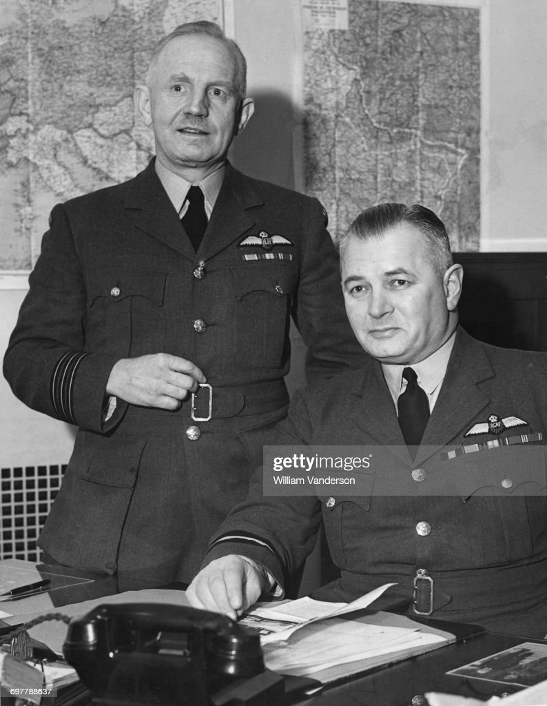 Wing Commander Francis Vernon Heakes and Air Commodore Lloyd