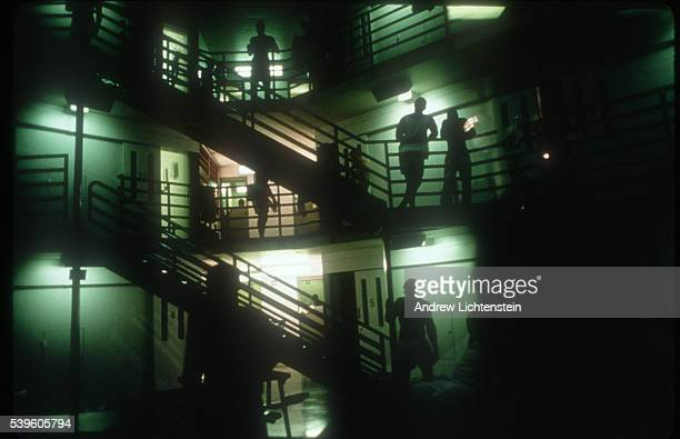 A wing inside a Texas prison