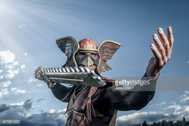 Winged Hero With Sword