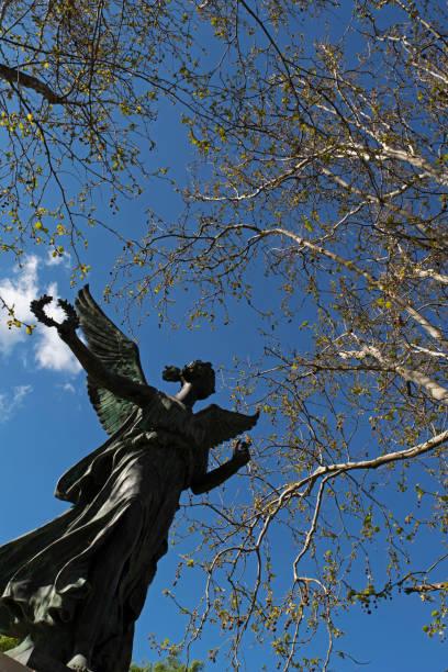 Winged statue of Victory, Victoria Gardens, Prahran, Melbourne