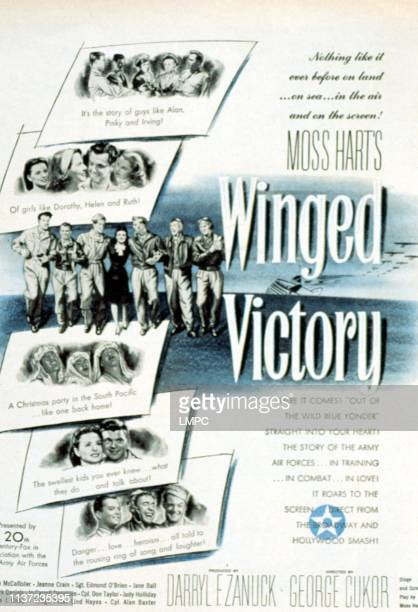 Image result for Winged Victory 1944 poster